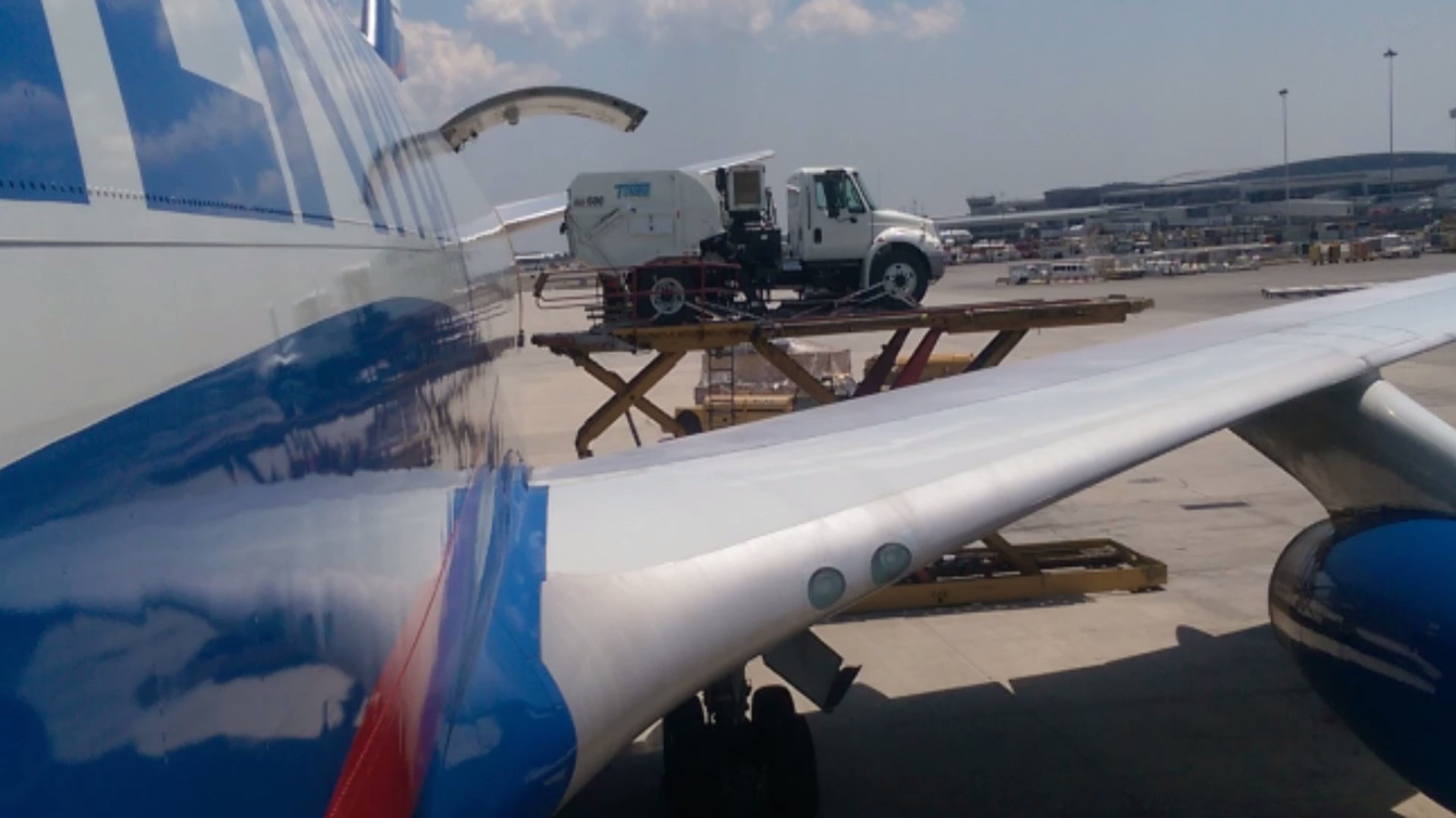 Oversized air freight